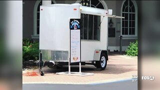 Ice cream trailer stolen from business parking lot