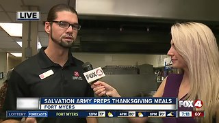 Salvation Army preps Thanksgiving meals for community