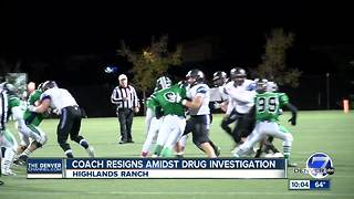 Highlands Ranch HS football coach resigns after drug sweep operation at school parking lot - Video