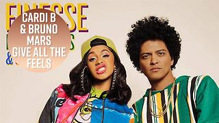 Cardi B & Bruno Mars go viral in Finesse music video - Video