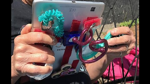 Tablet Fidget Tool to Decrease Anxiety