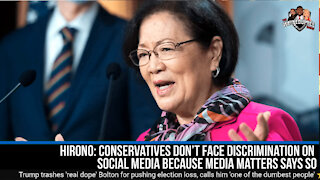 Conservatives are not Discriminated according to Media Matters!