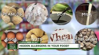 Hidden allergens in your food - Video