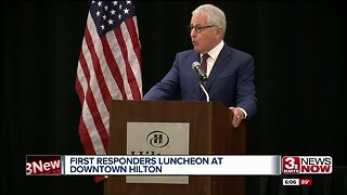 First responders luncheon at downtown Hilton