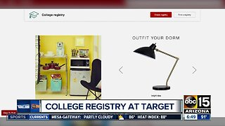 Registries for college students helps get ready for school year