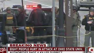 Ohio State University attack leaves campus shaken - Video