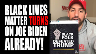 Black Lives Matter TURNS on Joe Biden