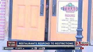 Restaurants respond to restrictions