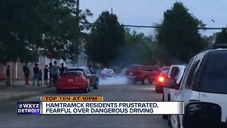 Dangerous driving in Hamtramck - Video