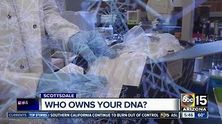 Who owns your DNA when you do those tests?