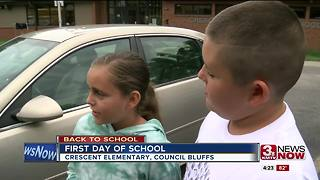 Kids, Parents excited to return to Crescent Elementary - Video