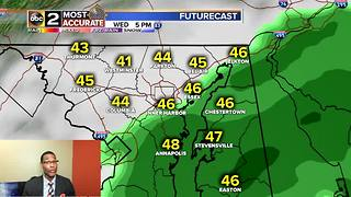 Maryland's Rain Returns on Tuesday - Video