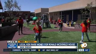 Local kids raise money for Ronald McDonald House - Video