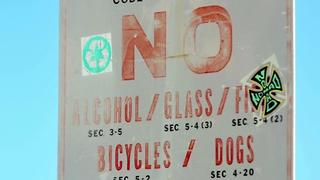 Beach boozin': Legal for tourists, not locals? | Digital Short - Video