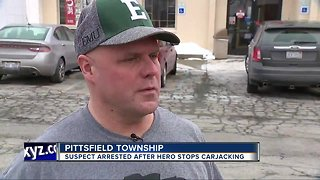 Suspect arrested after hero stops attempted carjacking at KFC in Pittsfield Township