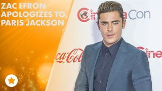 Zac Efron's trying to make it up to Paris Jackson! - Video