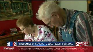 More than 8,000 elderly Oklahomans impacted by cancellation of health plans - Video
