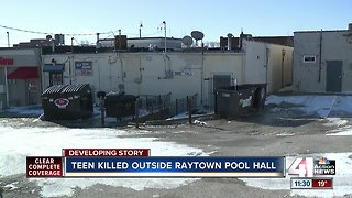 19-year-old killed in shooting outside Raytown pool hall