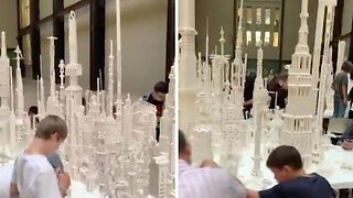 JUST ANOTHER BRICK IN THE WALL: AMAZING STRUCTURES COME TO LIFE AT PUBLIC LEGO EXPO AT LONDON TATE MODERN