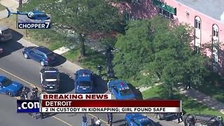 2 in custody in kidnapping; girl found safe - Video