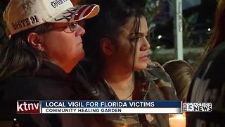 One-October survivors honor victims of Florida school shooting