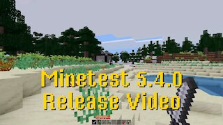 Minetest 5.4.0 Release Video