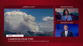 Cameron Peak Fire starts near Chambers Lake in western Larimer County