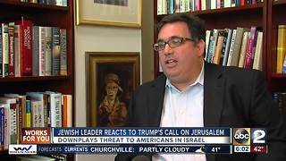 Jewish leader reacts to Trump's Jerusalem call - Video