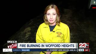 Crews continue to battle fire in Wofford Heights - Video