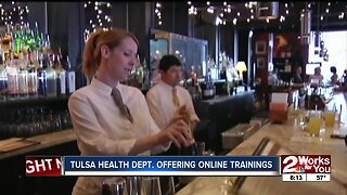 Tulsa Health Department offering online training