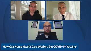 Palm Beach County health director says home health care workers need to 'be patient' for vaccine