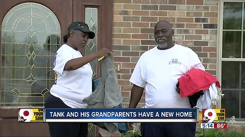 How these homeless grandparents' huge sacrifice paid off