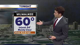 Small chance of pop-up showers Friday afternoon - Video
