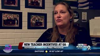 UA program offers incentives for teachers - Video