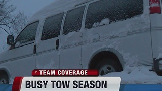 Busy tow season - Video