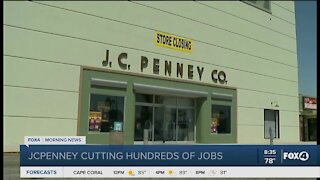 JC Penny cuts hundreds of Jobs