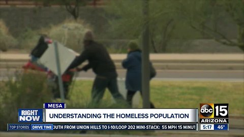 Volunteers working to count those experiencing homelessness