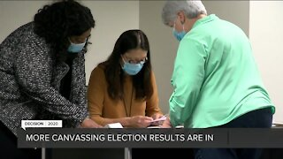 Canvassing election results continue to come in, election misinformation and fraud allegations are discussed