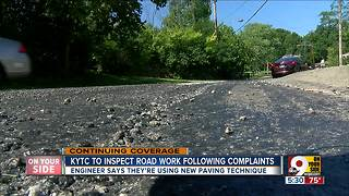 KYTC: Fort Wright low-cost road repair 'not what we hoped' - Video