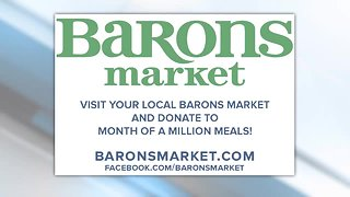 Baron's Market helps with Month of a Million Meals