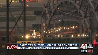 Sales tax question on Tuesday's ballot - Video