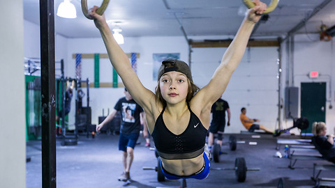 Meet The 10-Year-Old CrossFitter Aiming For The Olympics