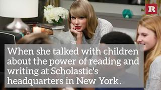 5 Times Taylor Swift Gave Back | Rare People - Video