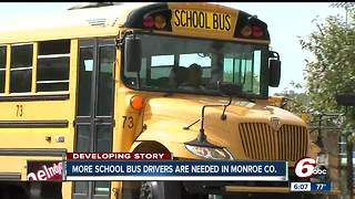 More school bus drivers needed in Monroe County - Video