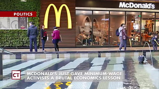 Mcdonald's Stock Skyrockets After Announcing Plans For Automation - Video