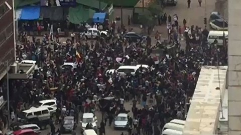 Demonstrators Take to Streets of Harare in Protest Against Mugabe
