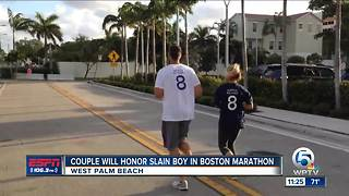 Local Couple Will Honor Slain Boy In Boston Marathon - Video
