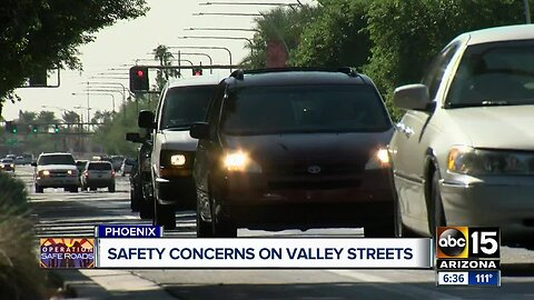 When is Phoenix going to fix those bumps in the road?