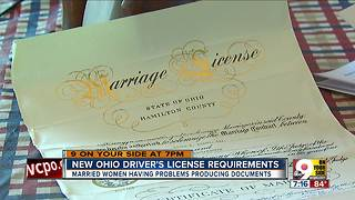 Married women having problems with new license - Video