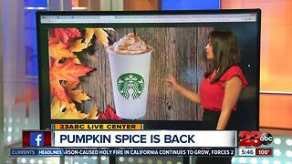Pumpkin Spice Lattes are back - Video